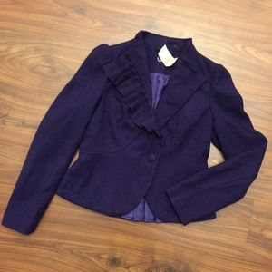New Vintage Ambition Pleated Blazer Size M NWT